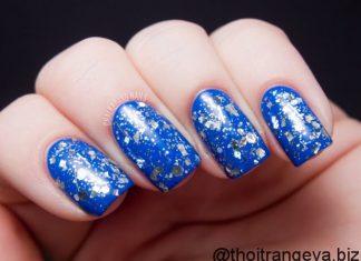 nail dep mau xanh (7)