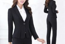 bộ vest công sở Hàn Quốc