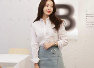 váy đầm công sở Hàn Quốc