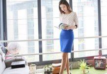 váy đầm ngắn công sở