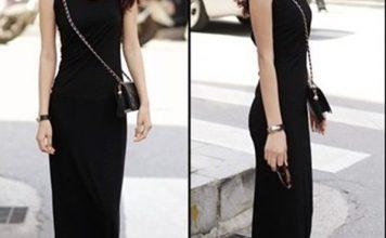 váy đầm công sở dáng dài
