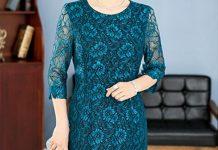 váy đầm công sở cho tuổi trung niên