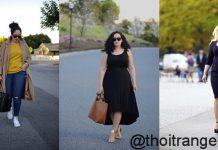 thời trang công sở cho người béo mập