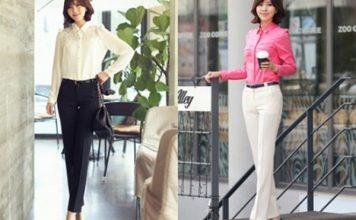 thời trang công sở đẹp ở Hà Nội
