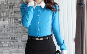 áo sơ mi nữ công sở dài tay