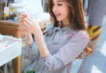 áo sơ mi nữ công sở kiểu Hàn Quốc