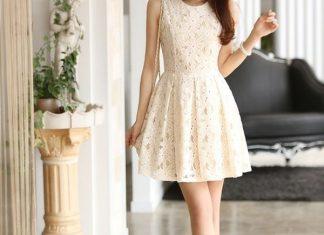 váy đầm dự tiệc Hàn Quốc