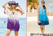 thời trang đi biển cho phụ nữ trung niên