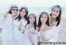 thời trang đi biển của sao Việt