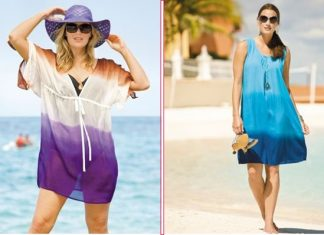 trang phục đi biển cho người béo