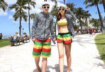 trang phục đi biển cho cặp đôi